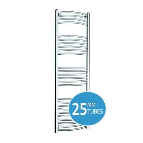 Kartell K-Rail Premium Curved Towel Rail - 400mm x 1800mm- Chrome